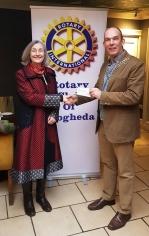 Presentation of €1000 cheque to Drogheda Womens Refuge